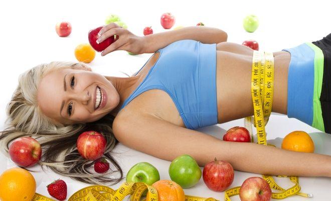 Похудел на двух яблоках в день