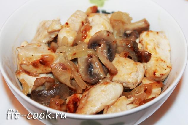 Диетические блюда с грибами рецепты с фото