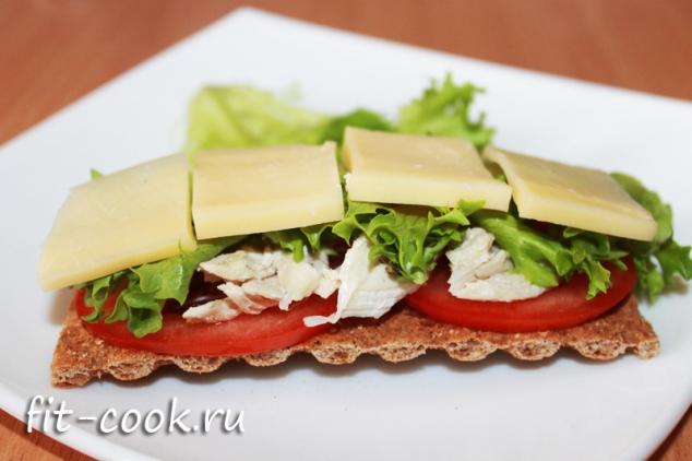 бутерброды из хлебцев рецепты